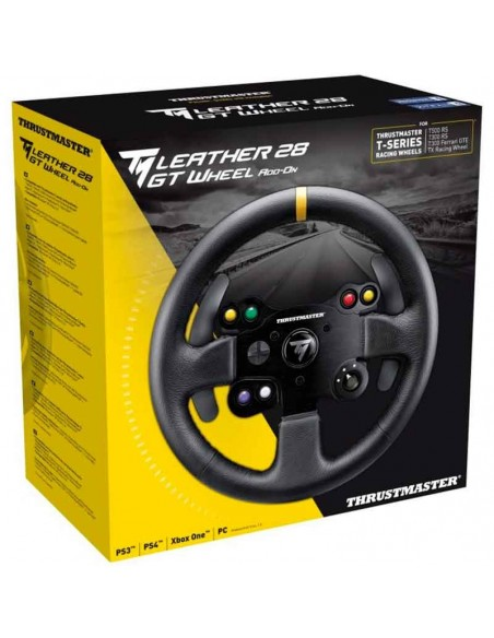 aro volante thrustmaster tm leather 28 gt wheel add-on 2