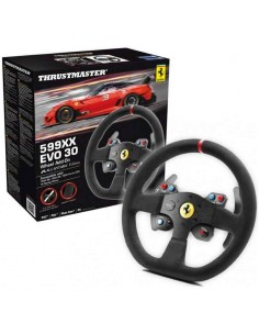 aro volante thrustmaster 599xx evo 30 wheel add-on alcantara edition