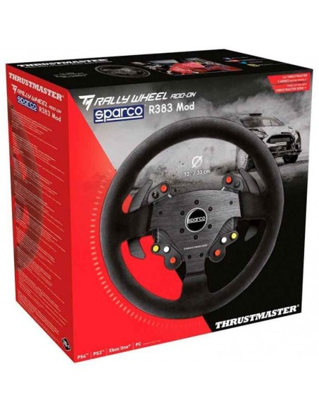 aro volante thrustmaster tm rally wheel add-on sparco r383 mod