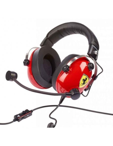 auriculares gaming thrustmaster t.racing ferrari edition 1