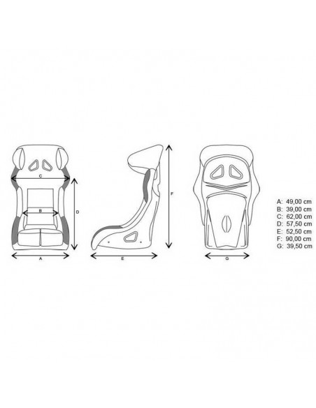 asiento baquet gp race circuit apex 07 3